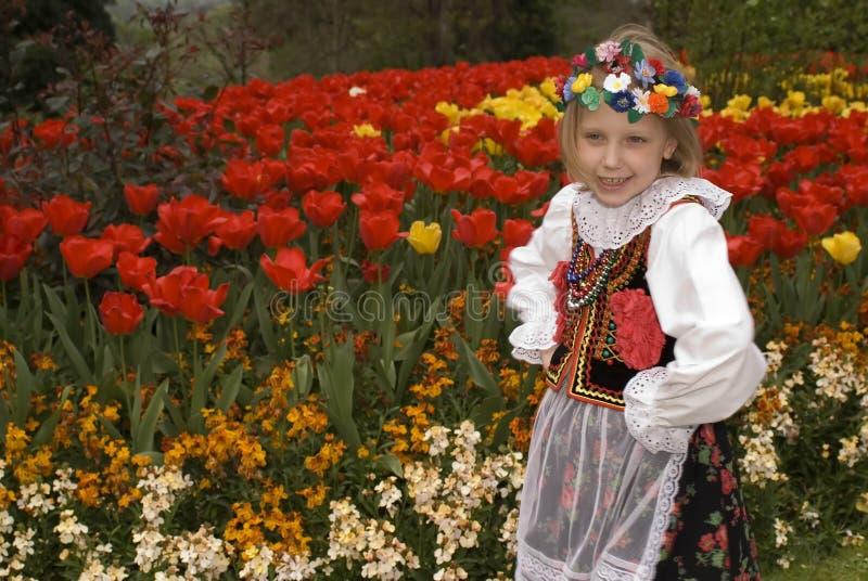 Muchacha de Cracovia imagen de archivo libre de regalías