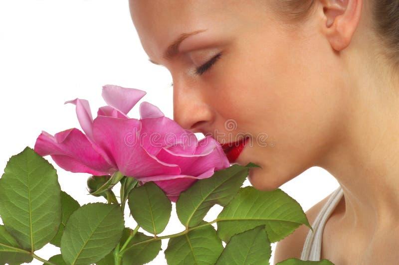 Muchacha de flor 5 foto de archivo libre de regalías