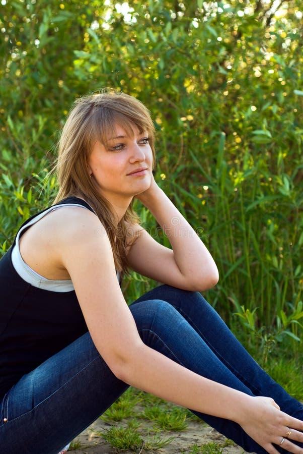 muchacha de la belleza fotografía de archivo libre de regalías