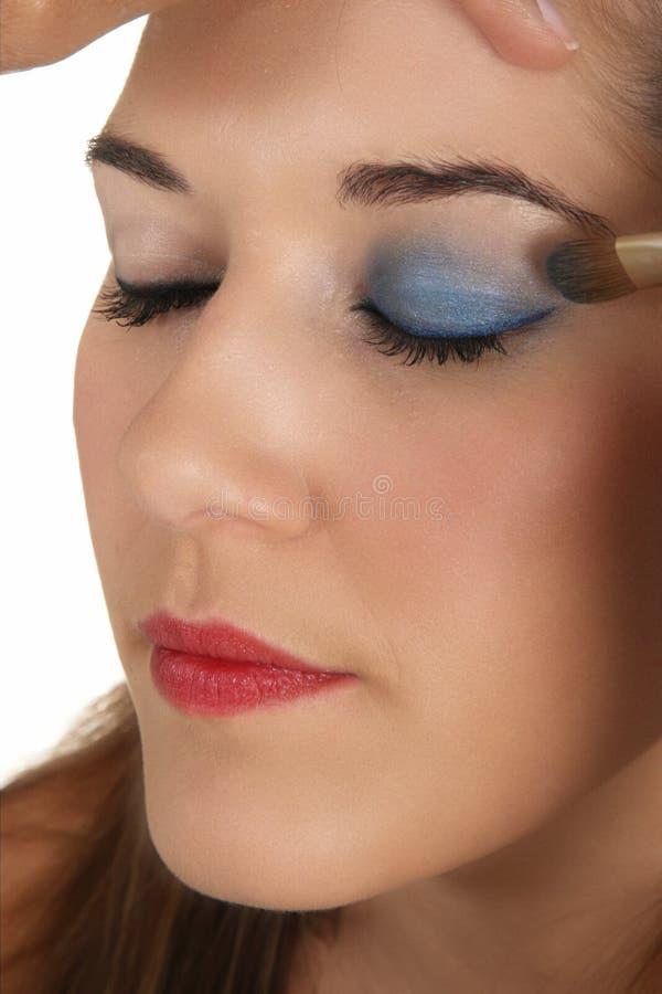 Muchacha de maquillaje hermosa imagen de archivo libre de regalías