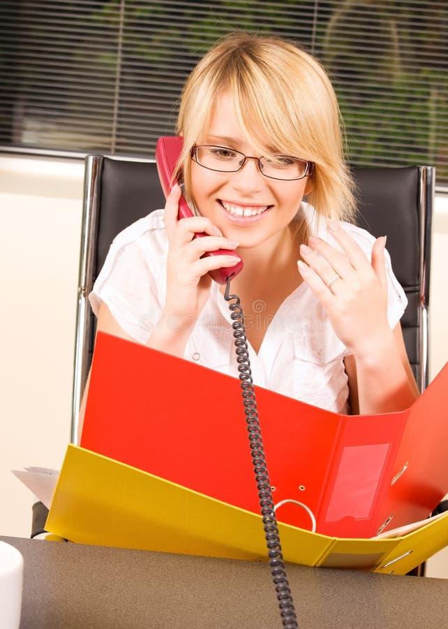 Download Muchacha de oficina imagen de archivo. Imagen de negocios - 41904979