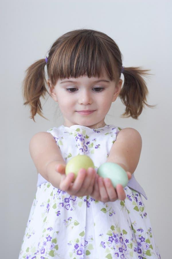 Muchacha de Pascua imagen de archivo libre de regalías