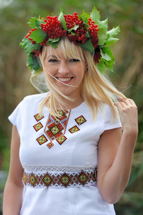 Muchacha de Ucrania imagen de archivo libre de regalías