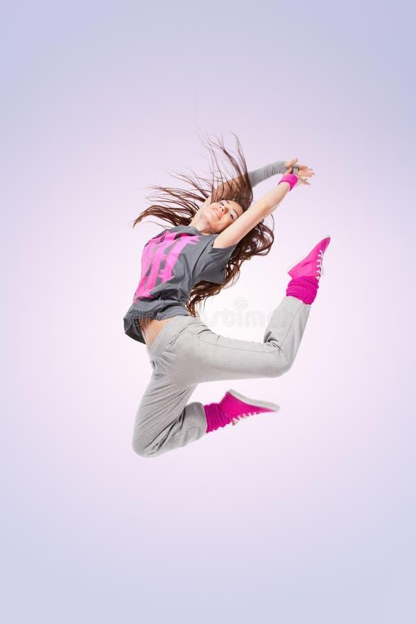 Muchacha del bailarín de Hip-hop fotografía de archivo