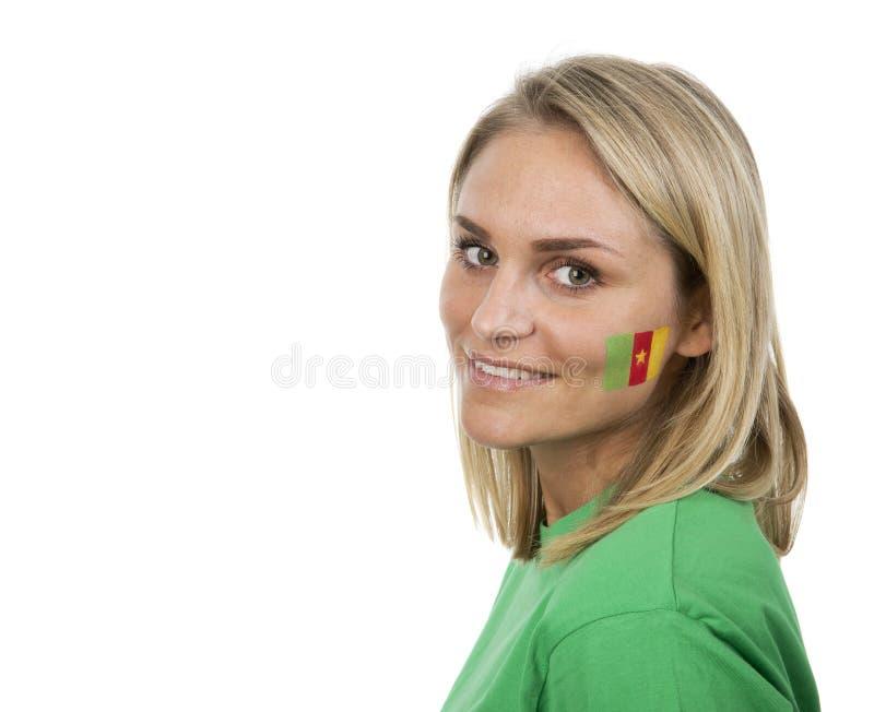 Muchacha del Camerún imagen de archivo