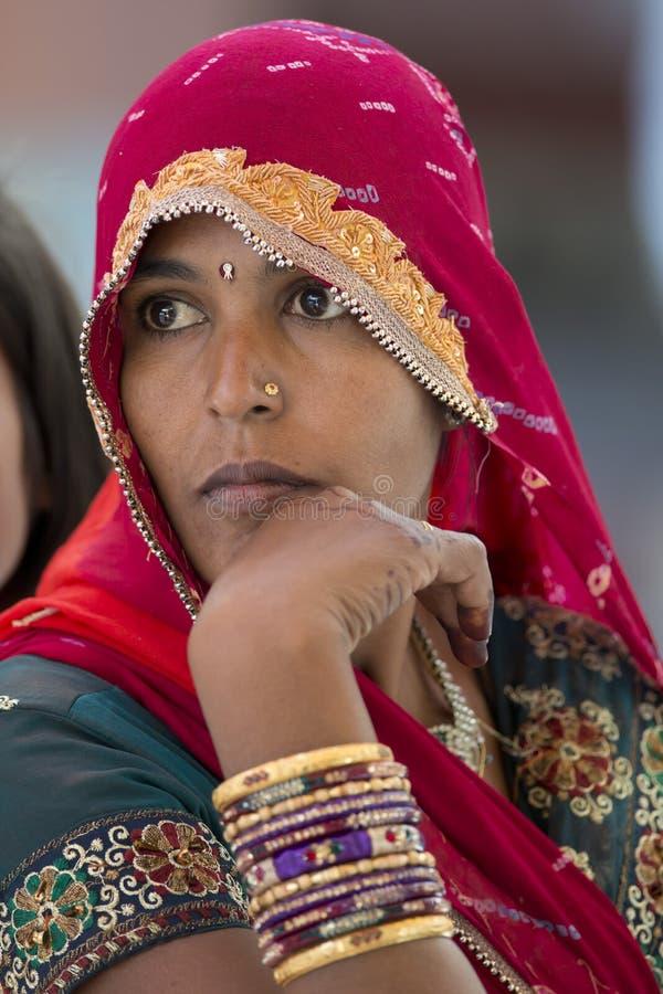 Muchacha del indio de Youg fotos de archivo