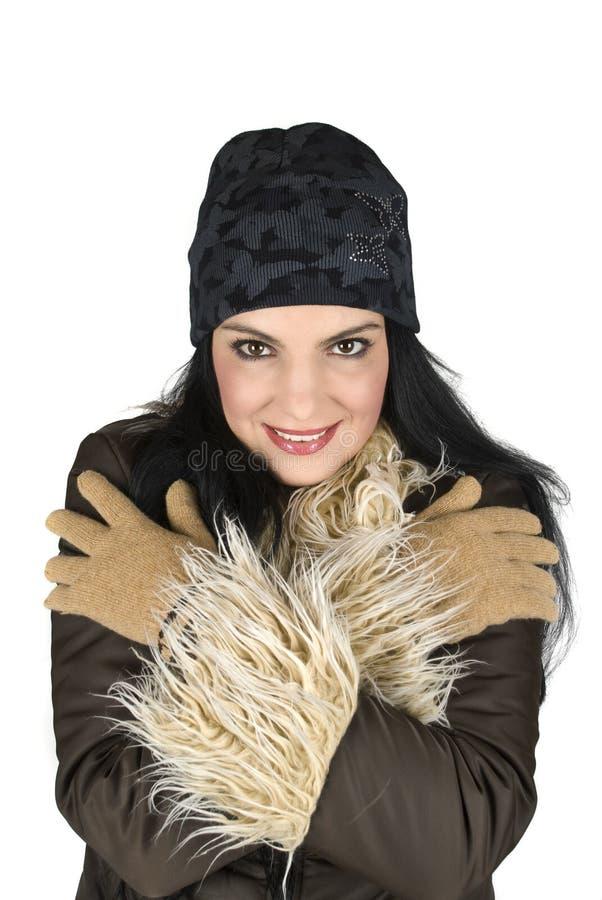 Download Muchacha del invierno foto de archivo. Imagen de hermoso - 7151636