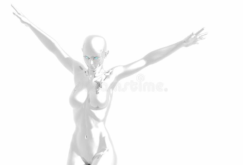 Muchacha del platino libre illustration