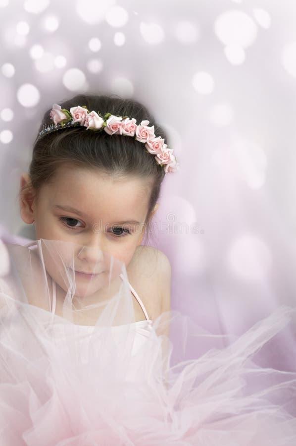 Muchacha dulce de la bailarina imagenes de archivo