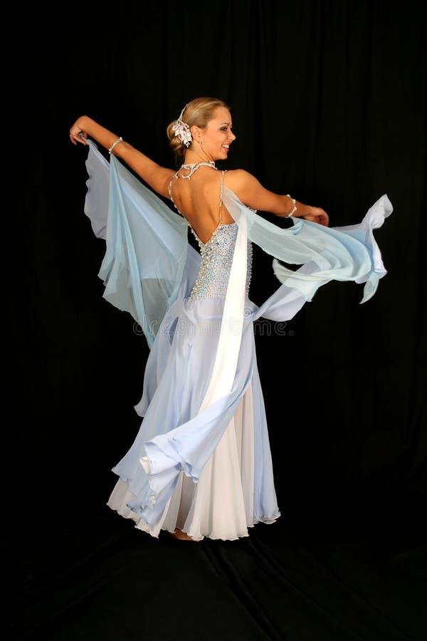 Muchacha en danza imagenes de archivo