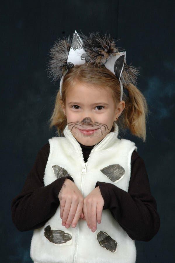 Muchacha en traje fotografía de archivo libre de regalías