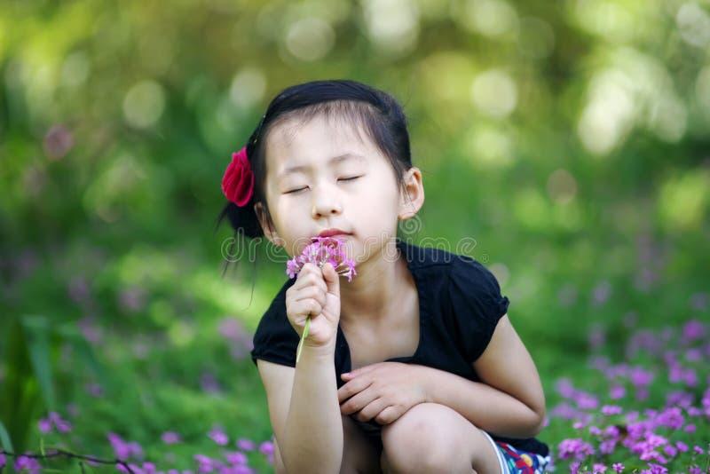 Muchacha encantadora china imagenes de archivo
