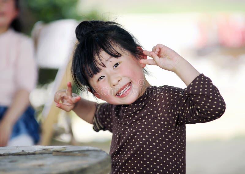 Muchacha encantadora china foto de archivo