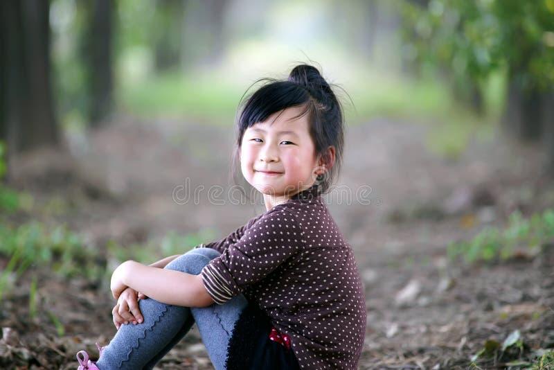 Muchacha encantadora china imagen de archivo libre de regalías
