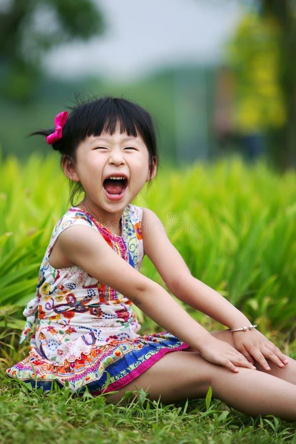Muchacha encantadora china foto de archivo libre de regalías