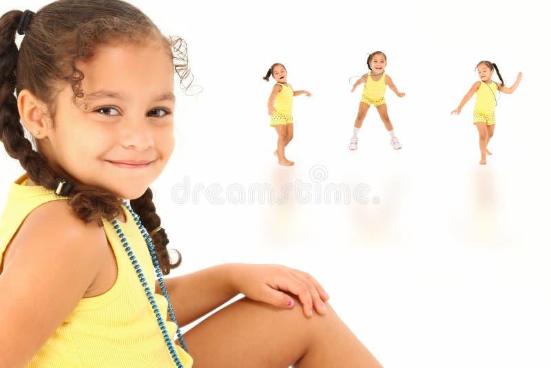 Muchacha feliz foto de archivo