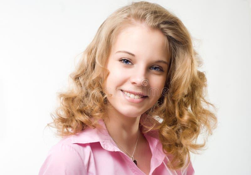 Muchacha hermosa adolescente fotografía de archivo