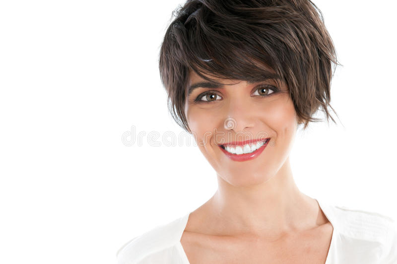 Muchacha hermosa sonriente fotos de archivo libres de regalías