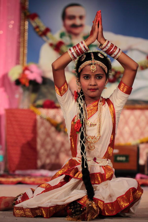 Muchacha india foto de archivo libre de regalías