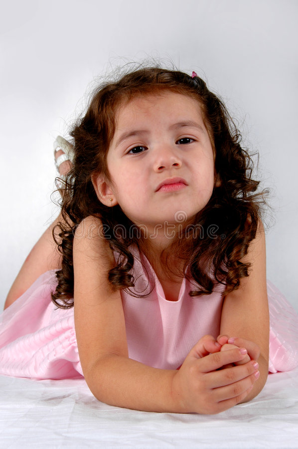 Muchacha joven del Latino imagenes de archivo