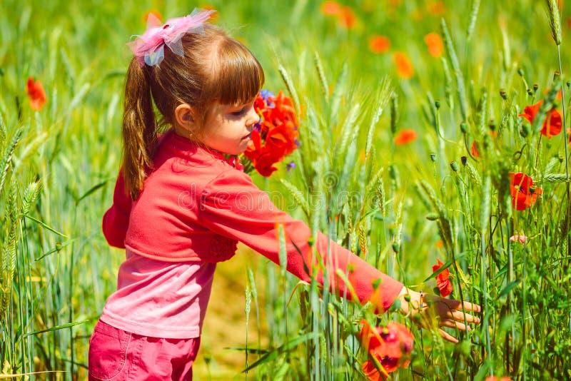 Muchacha linda del niño fotografía de archivo libre de regalías