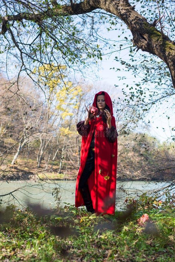 Download Muchacha Morena En Un Impermeable Rojo Imagen de archivo - Imagen de atractivo, mirada: 42437837