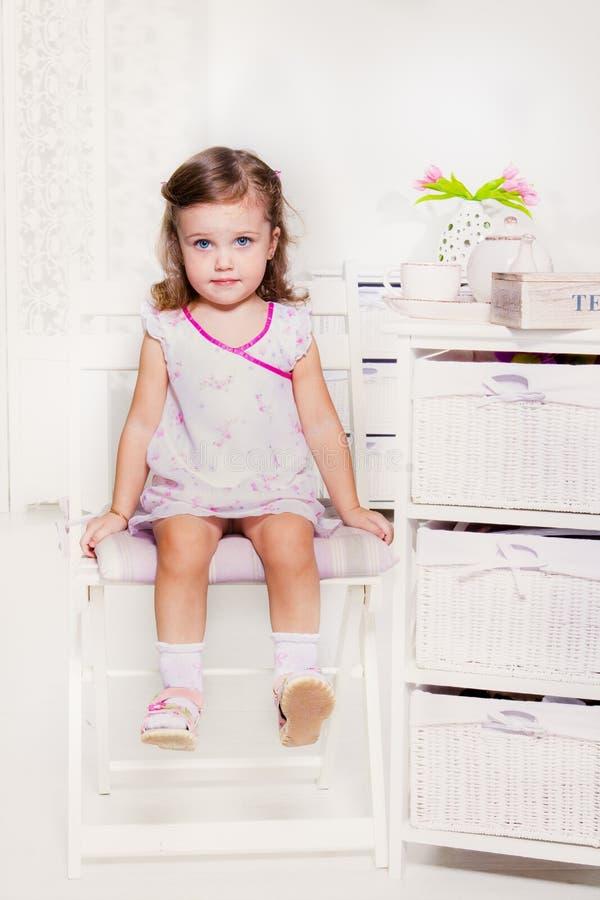 Muchacha preescolar dulce imágenes de archivo libres de regalías