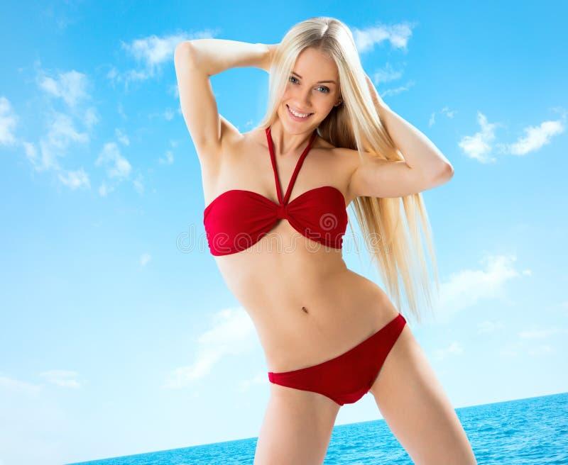 Download Muchacha Rubia Joven Sexual Imagen de archivo - Imagen de sensual, carrocería: 42431299
