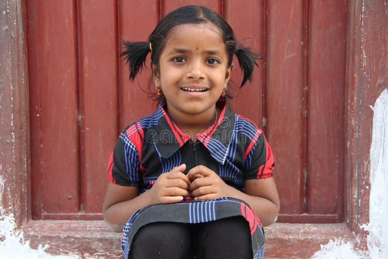 Muchacha rural india fotos de archivo libres de regalías