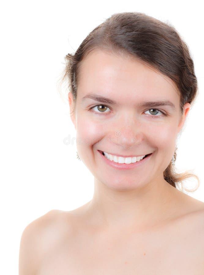 Muchacha sonriente fotos de archivo libres de regalías