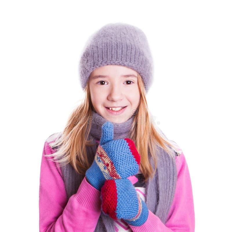 Muchacha sonriente hermosa. fotografía de archivo libre de regalías
