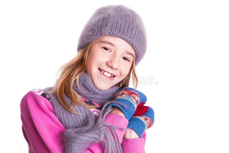 Muchacha sonriente hermosa. imagen de archivo libre de regalías