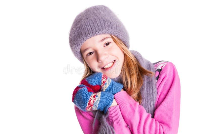 Muchacha sonriente hermosa. fotografía de archivo
