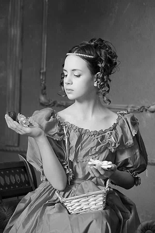 Muchacha victoriana joven fotos de archivo libres de regalías
