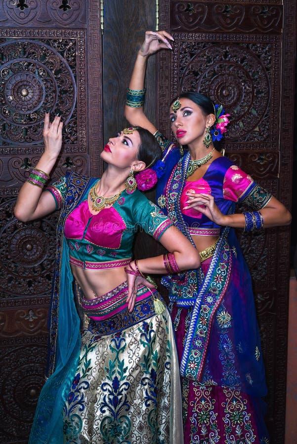 Muchachas de la India foto de archivo libre de regalías