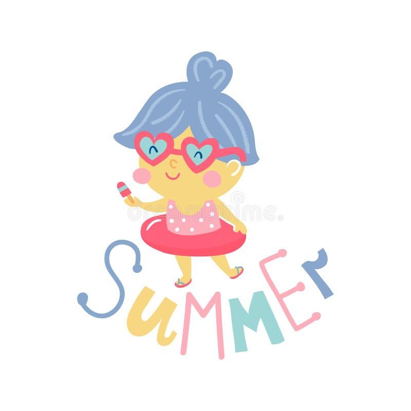 Muchachas del verano libre illustration