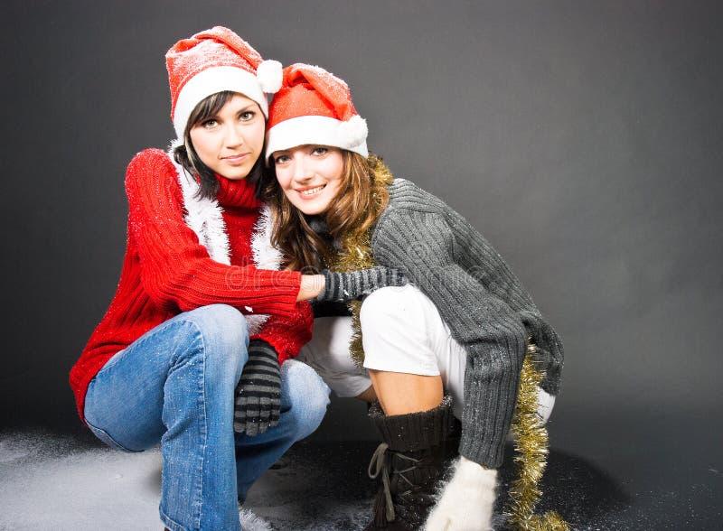 Download Muchachas Que Juegan Con Nieve Imagen de archivo - Imagen de feliz, festival: 7278113