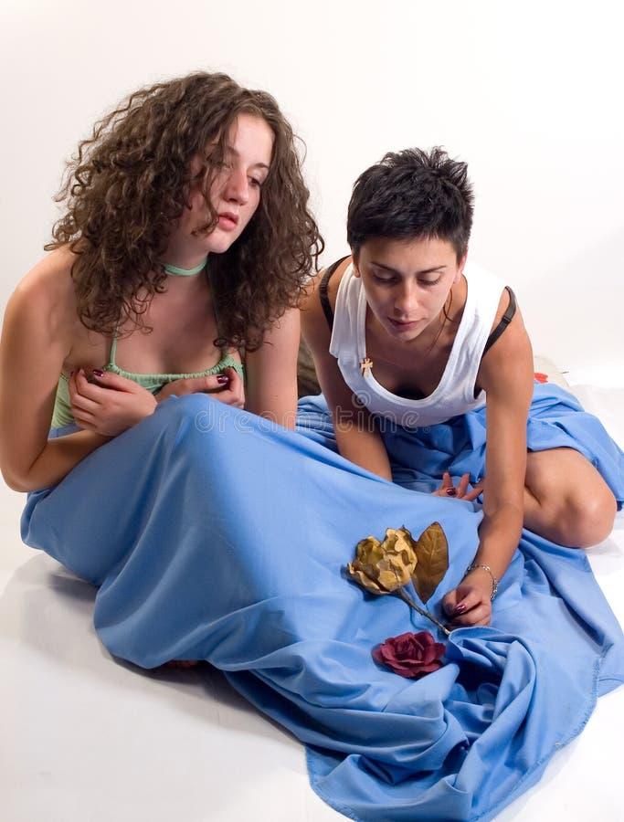 Muchachas sensuales imágenes de archivo libres de regalías