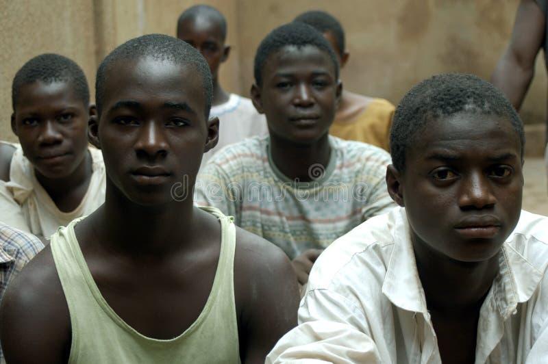 Muchacho africano fotografía de archivo libre de regalías