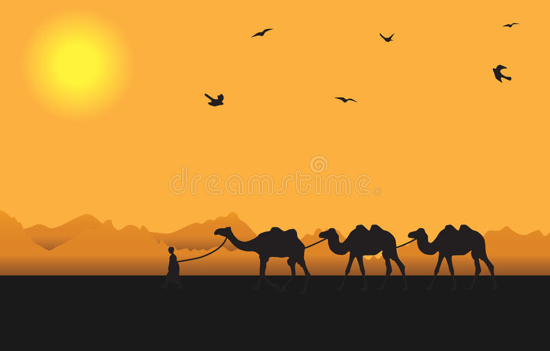 Download Muchacho de Afrika ilustración del vector. Ilustración de silueta - 42445224