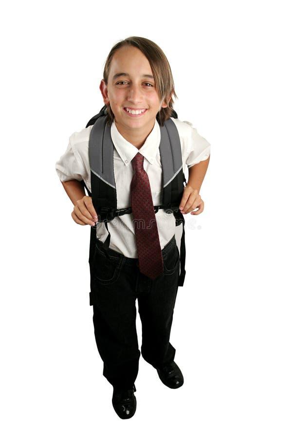 Download Muchacho de escuela feliz foto de archivo. Imagen de ethnicity - 177640