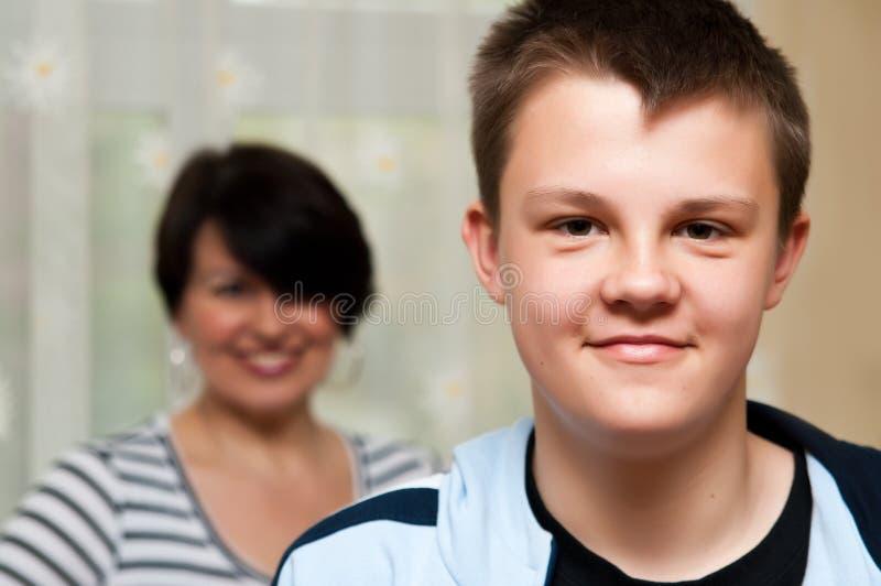 Muchacho del adolescente fotografía de archivo