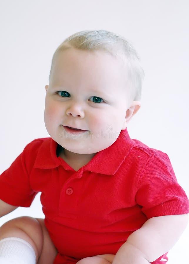 Muchacho del niño - sonriendo fotografía de archivo