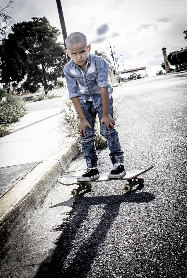 Muchacho del patinador de la velocidad foto de archivo