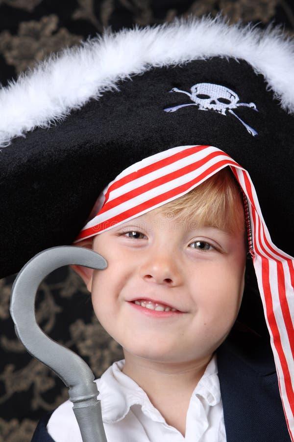 Muchacho del pirata imagen de archivo libre de regalías