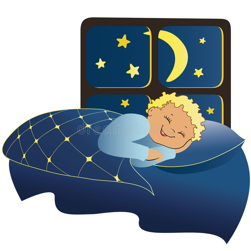 Muchacho durmiente libre illustration