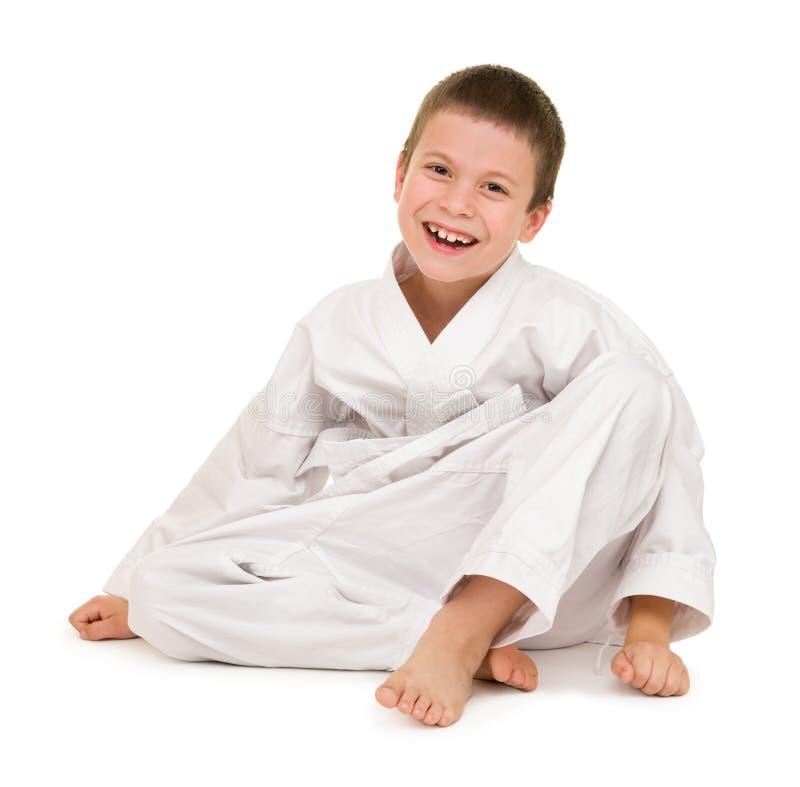 Download Muchacho En La Ropa Para Los Artes Marciales Foto de archivo - Imagen de karate, salud: 44853002