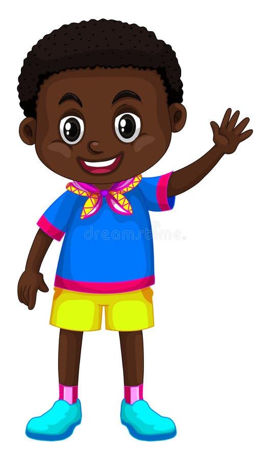 Muchacho feliz de Zimbabwe libre illustration