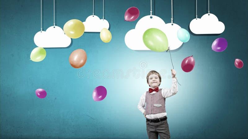 Muchacho feliz del preschooler fotografía de archivo libre de regalías