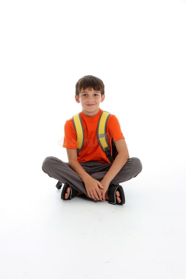 Muchacho joven feliz imagen de archivo libre de regalías